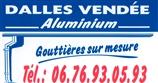 DALLES VENDEE ALUMINIUM - gouttière - LONGEVILLE-SUR-MER 85560