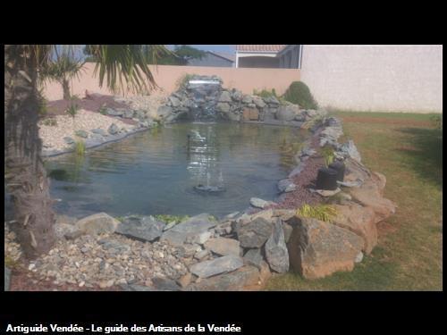 Réalisation d'un bassin à Luçon