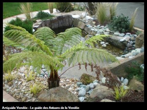 Bassin et plantes 85700 Pouzauges