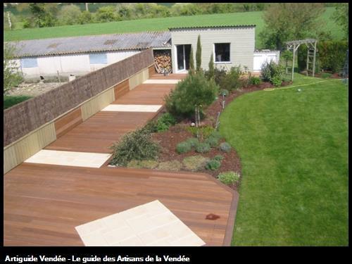 Terrasse bois à Beaurepaire
