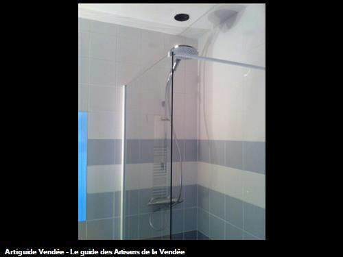 Carrelage murale douche blanc La Tranche Sur Mer 85360