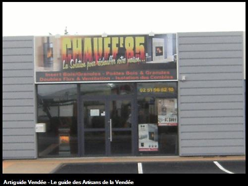 Le magasin de Chauff'85  4 av maréchal juin à luçon 85400
