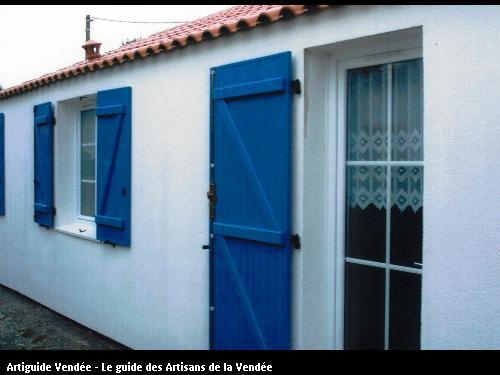 Réalisation de volets à Noirmoutier
