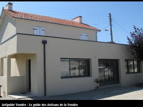 Extension maison d'habitation
