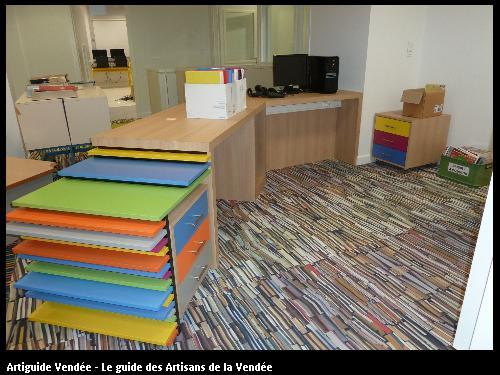 Création et fabrication du bureau d'accueil du collège de Villebois Mareuil 85607 MONTAIGU