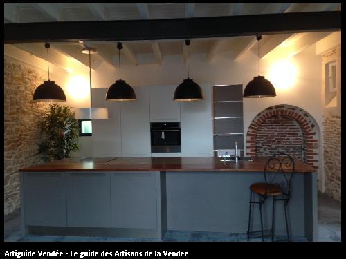 les ateliers st phane lamour cuisiniste chateau d 39 olonne. Black Bedroom Furniture Sets. Home Design Ideas