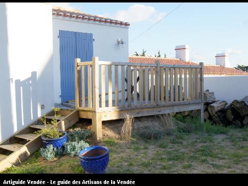 terrasse bois à Noirmoutier 85330