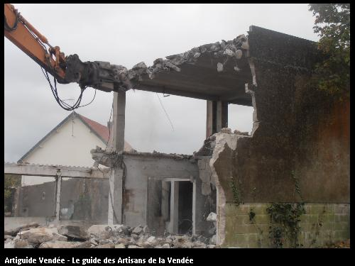 Démolition habitation