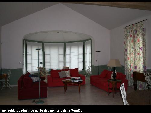 L'entreprise de peinture Jacques Bobin (85680 La Guérinière) a réalisé un enduit à la chaux sur Noirmoutier (85330)