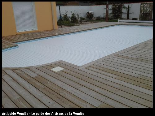 Terrasse en Pin traité classe 4 - 85180 LE CHATEAU-D'OLONNE