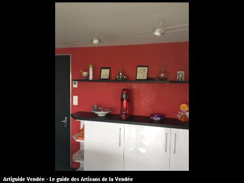 Décoration faite par l'artisan peintre décorateur Willy Déco en Vendée
