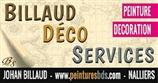 Billaud Déco Services - peintre en batiment - NALLIERS 85370