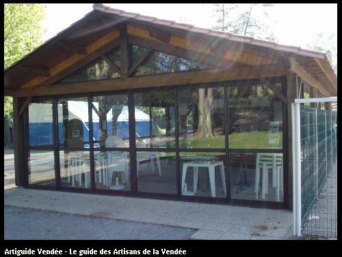 Charpente réalisé par l'entreprise MILCENT HENRI ET FILS basée à SAINT HILAIRE DE RIEZ (85270)