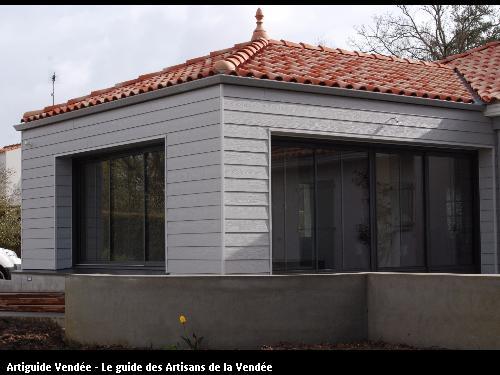 Ossature réalisé par l'entreprise MILCENT HENRI ET FILS basée à SAINT HILAIRE DE RIEZ (85270)