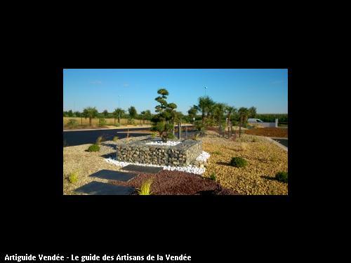 Travaux de paysagiste réalisés par l'entreprise BERNIER MAURICE basé à LUCON 85400