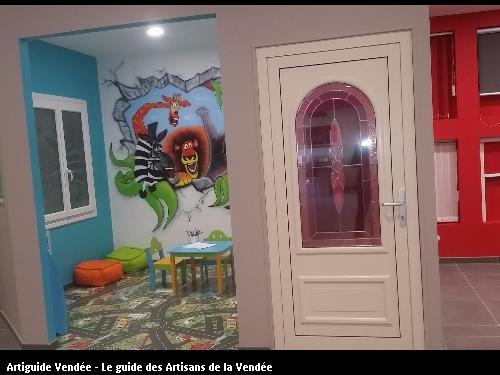 Nouveau showroom de l'entreprise CDH basée à SAINTE GEMME LA PLAINE