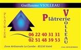 Platrerie Violleau - plâtrier - VAIRE 85150