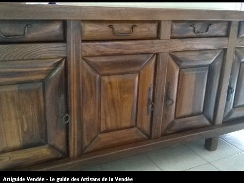 Relooking meuble en orme (AVANT)