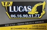 LUCAS TP - travaux publics - CHAMBRETAUD 85500