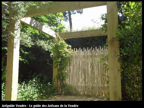 Panneaux en Eucalyptus - 85360  La Tranche/Mer.