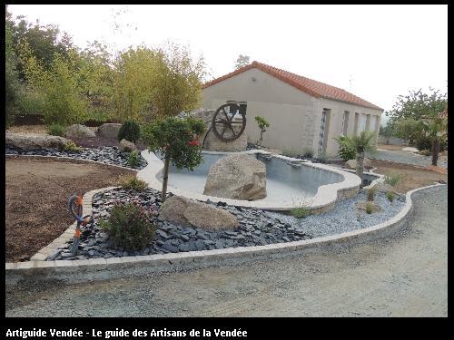 Création d'un bassin extérieur