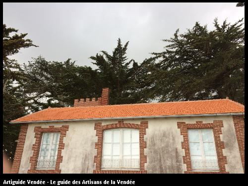 Réfection totale de la toiture après une tempête au Vieil (Noirmoutier)