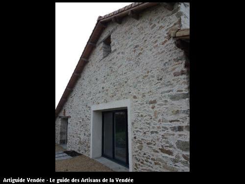 Enduit de rénovation réalisé par CHAILLOU Pere et Fils à Aizenay 85190