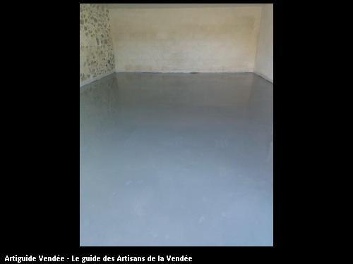 Réagréage garage réalisé par CHAILLOU Pere et Fils à Aizenay 851