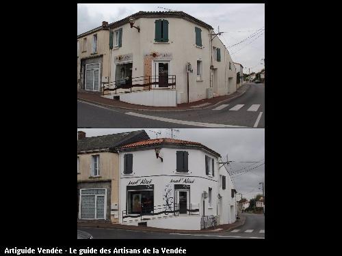 Travaux avant et après réalisés par Herbert Thierry à la Ferrière 85280