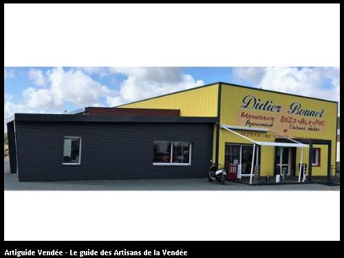 Entreprise BONNET Didier Menuiserie RGE - Facade
