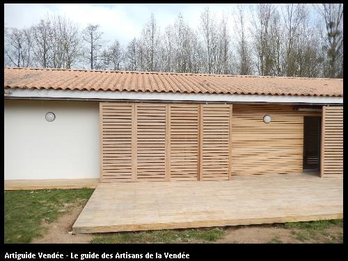 Travaux d'aménagement extérieur réalisés par Tesson Laurent - Saint-Julien-des-Landes 85150