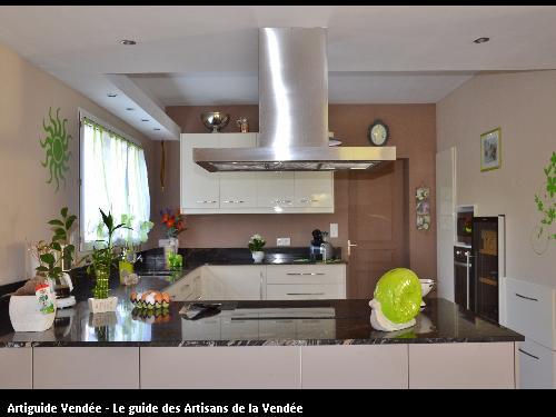 Travaux d'aménagement intérieur réalisés par Tesson Laurent - Saint-Julien-des-Landes 85150