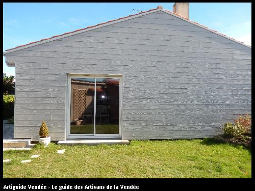 Ossature bois réalisé par Tesson Laurent - Saint-Julien-des-Landes 85150