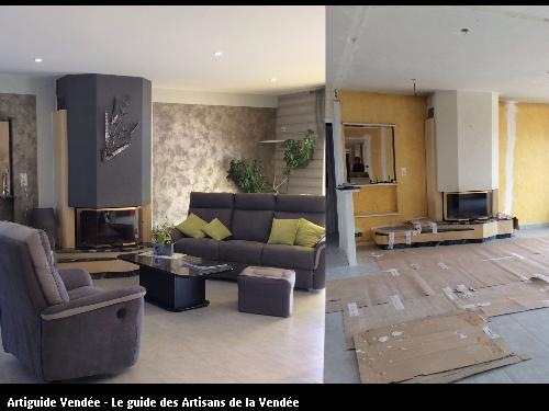 Décoration intérieur avant/après
