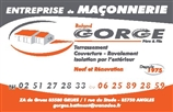 ROLAND GORGE MACONNERIE - ma��on - GRUES 85580