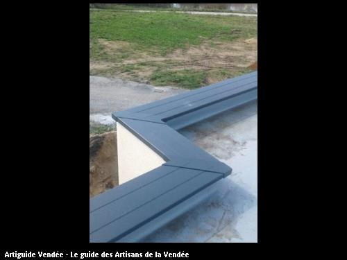 fabrication de couvertine aluminium en continu et sans raccord