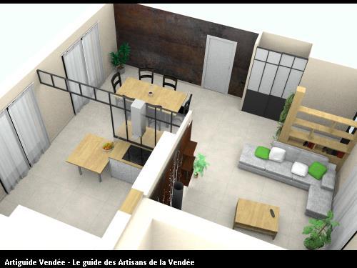 Se projeter dans son futur chez-soi comme si on y était grâce aux études de projet et la technologie 3D.