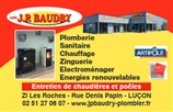 JEAN PAUL  BAUDRY - plombier - LUCON 85400