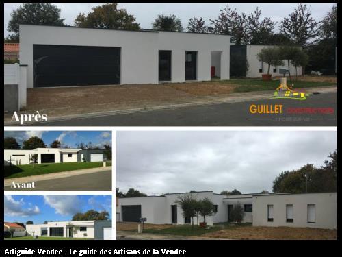Avant / Après Extension de maison