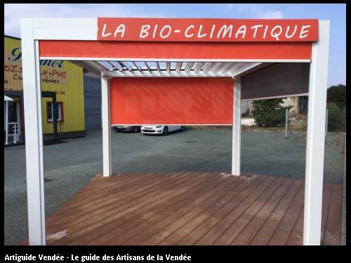 Pergola bio-climatique