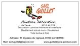SARL GUILLET - peintre en batiment - LA VERRIE 85130