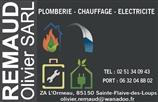 Remaud - plombier - SAINTE-FLAIVE-DES-LOUPS 85150