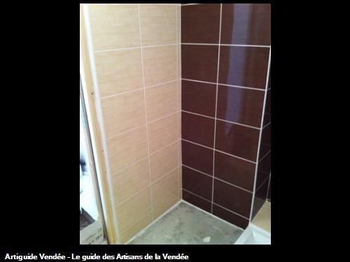Carrelage mural chocolate et crème. Luçon 85400