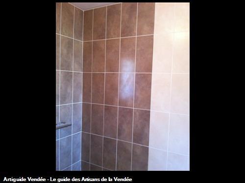 Suite carrelage murale douche à l'italienne Luçon 85400