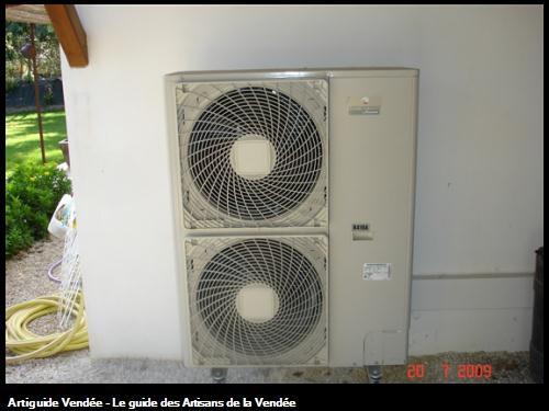 pompe à chaleur aérothermique pour plancher chauffant ou circuit radiateur
