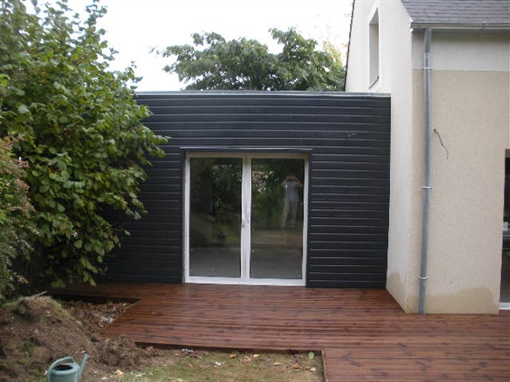Sehr Extension Maison Toit Plat. Beautiful Extension Toiture Plate With  SC75
