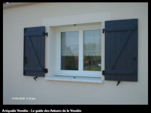 OUVERTURE EXTERIEURE PVC / VOLET BATTANT Fontenay le Comte 85200