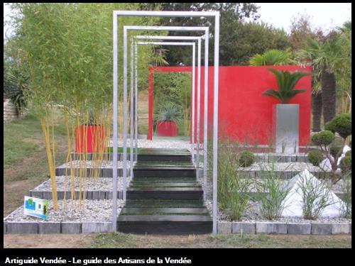 Notre stand expo aux Pépinières Boutin 85540 St Avaugourd des Landes.