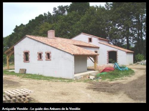 Maison neuve style ancien à la Boissière des Landes