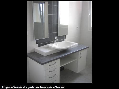 Salle de bains à La Verrie